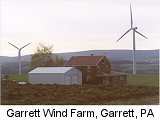 The Garrett Wind Farm near Garrett, Pennsylvania